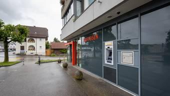 Der Bancomat der Raiffeisenbank Däniken-Gretzenbach wird nicht versetzt.