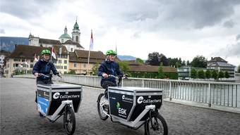 Die «Collectors» in Solothurn unterwegs.