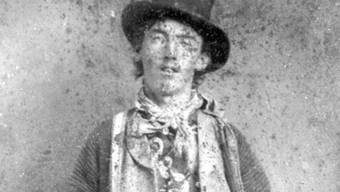 Einziges Foto, das den US-Banditen Billy the Kid im Erwachsenenalter zeigt
