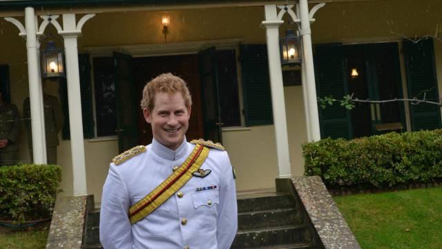 Keine Zeit, auf das Royal Baby zu warten: Prinz Harry (Archiv)