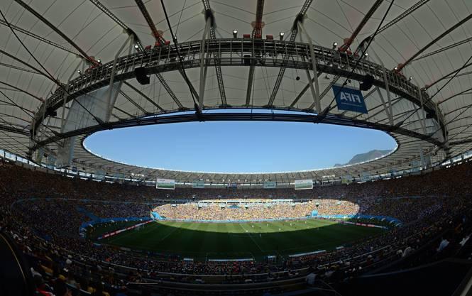 Das imposante Maracana-Stadion