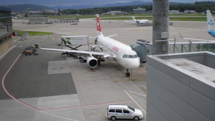 Airbus 320 der Swiss