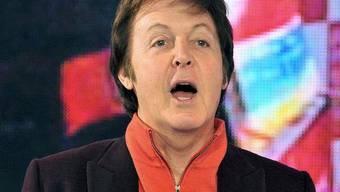 Paul McCartney zappelte und quietschte auf dem Fussgängerstreifen