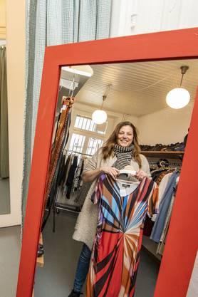 Angie Oetterli von «Saison 5» kann sich vor Anfragen kaum retten. Nach anderthalb Jahren schreibt ihre Familie mit dem Laden am St. Johanns-Ring bereits schwarze Zahlen.