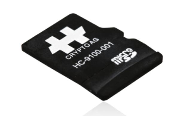 Der hoch entwickelte Verschlüsselungs-Chip der Crypto.
