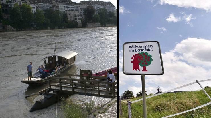 In den beiden Basel kann das Volk im Herbst über die Einleitung eines Fusionsverfahrens der zwei Kantone abstimmen. (Symbolbild)