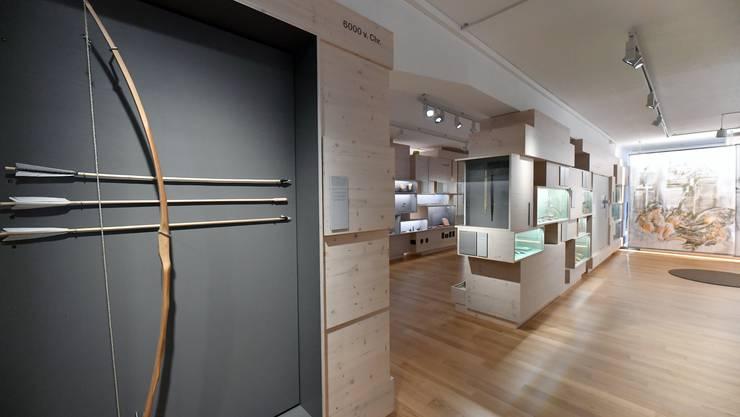 Im archäologischen Museum Olten sind allerlei Schätze ausgestellt.