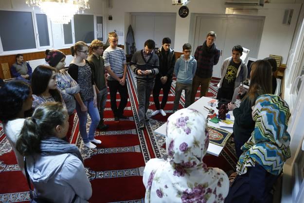 Workshop zur Woche der Religionen in der Moschee in Bellach