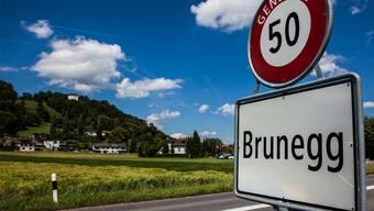 Die Gemeinde Brunegg soll weniger schnell wachsen, auch der Dorfcharakter soll bleiben.