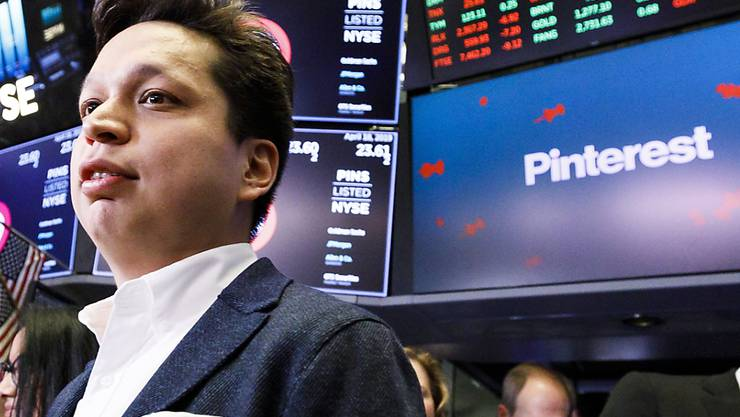 Pinterest CEO Ben Silbermann kann mit dem Börsengang seiner Fotoplattform zufrieden sein.