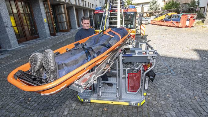 Rettungsfahrzeuge Berufsfeuerwehr Basel-Stadt
