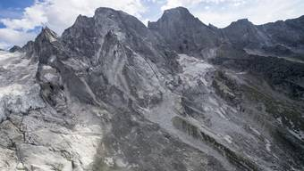 Am Piz Cengalo kam es zum Bergsturz.