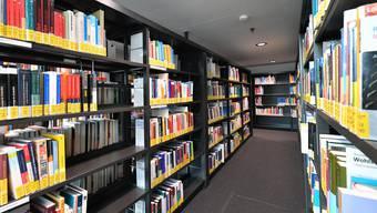 «Hightech»-Bibliothek der  Fachhochschule Nordwestschweiz in Olten