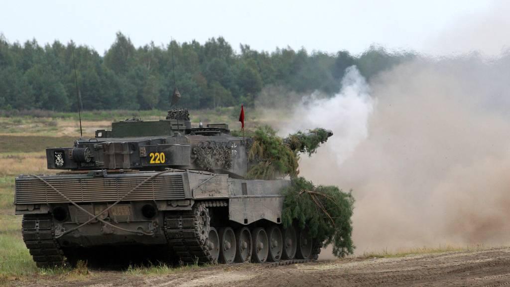 62 Armeepanzer dröhnen durchs Thurgau