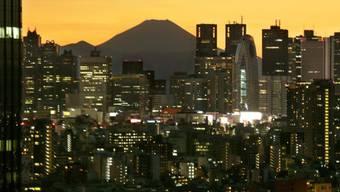 Wolkenkratzer in Tokio (Archiv)