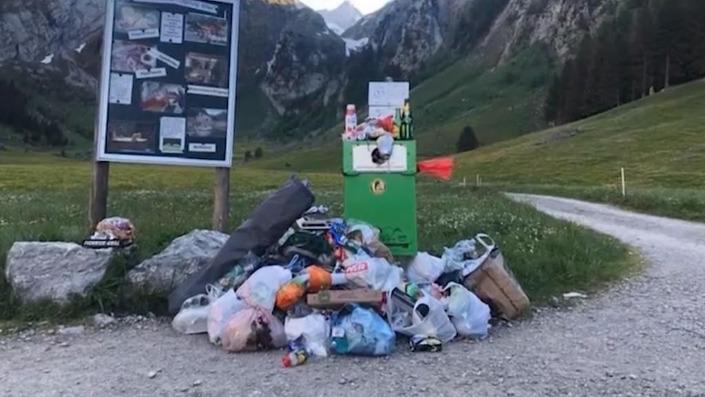 Ranger überflüssig: Weniger Abfall im Alpstein