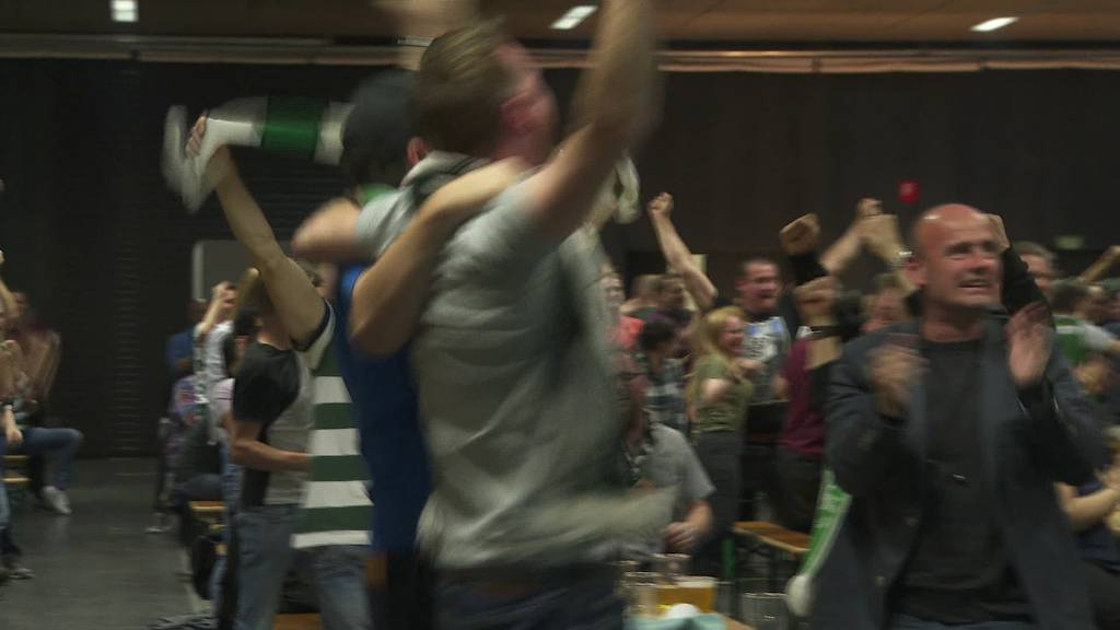 Public Viewing für 1000 Fans im Espenmoos