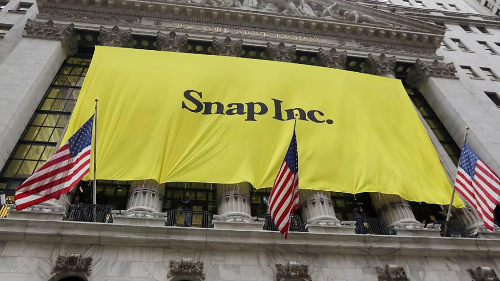 Snap erfreut Anleger mit überraschend starkem Nutzerwachstum