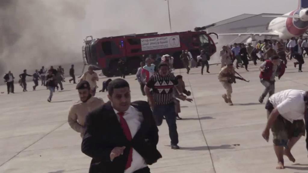 Jemen: Explosion am Flughafen nach Ankunft neuer Regierung