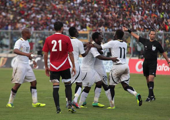 Die Nationalmannschaft von Ghana fährt als eines der wenigen Teams aus Afrika regelmässig an die WM.