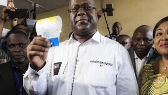 Seiner Vereidigung steht nichts mehr im Weg: der laut amtlichen Ergebnissen bei den Präsidentschaftswahlen im Kongo als Sieger hervorgegangene Félix Tshisekedi. (Archivbild)
