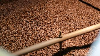 Die Kaffeebohnen werden geröstet – doch was passiert mit dem Rest der Kaffeefrüchte, der sogenannten «Pulpe»? (Archiv)