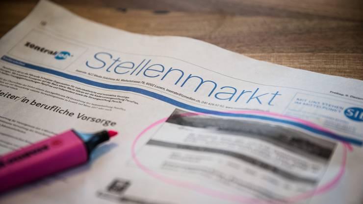 Die Arbeitslosenquote des Kanton Solothurn steigt im Monat März um 0.3 Prozent..
