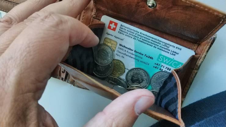 Die Krankenkassenprämien im Kanton Zürich sinken 2021 im Durchschnitt um 0,7 Prozent.
