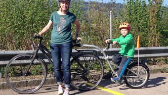 Baden/Zürich: Die «Route 66» soll zum Umweltveloweg werden, damit Kinder nicht nur vor dem Fernseher sitzen