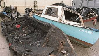 Die letzte Tat des Brandstifters vom Zürichsee: Diese Boote in Obermeilen zerstörte er im Oktober 1999 – und wurde in derselben Nacht verhaftet.
