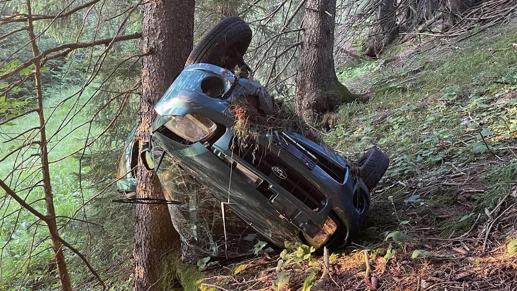 Toter Toggenburger in Auto gefunden – er stürzte Abhang hinunter