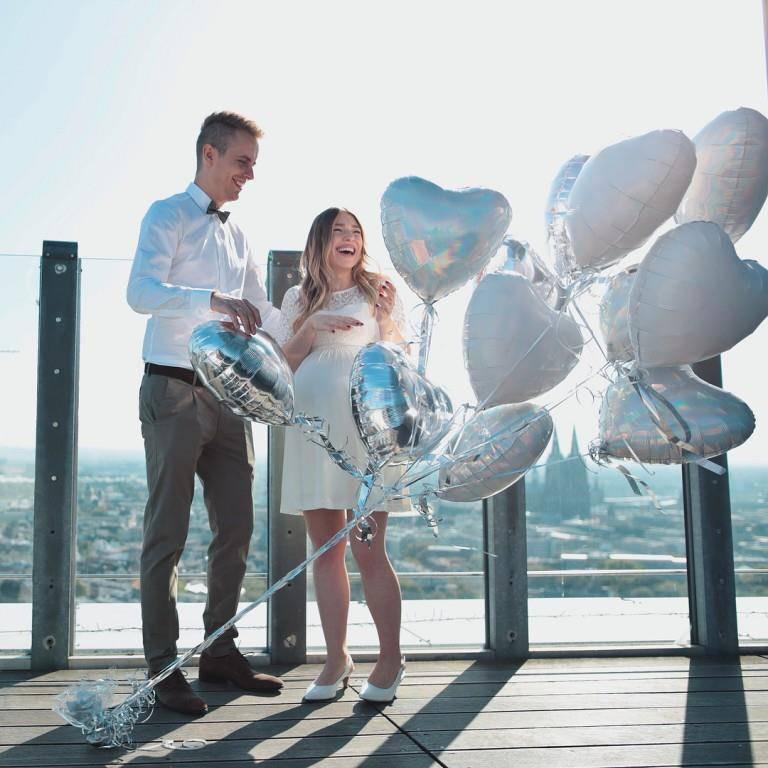 Hochzeit Bibi und Julian (© Instagram/Bibi/Julienco)
