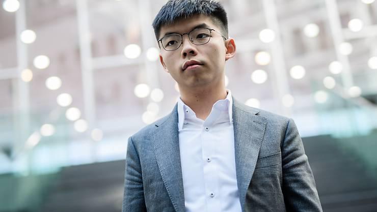 Der Pro-Demokratie-Aktivist in Hongkong, Joshua Wong, macht sich nach der Verabschiedung eines Gesetzes von China zu Hongkong grosse Sorgen um die Sicherheit von Regimekritikern. (Archivbild)
