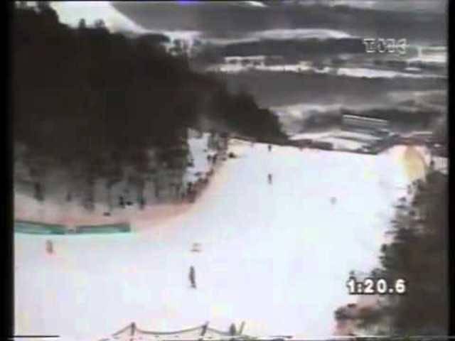 Ski-WM in Morioka 1993: Urs Lehmann gewinnt die Goldmedaille in der Abfahrt