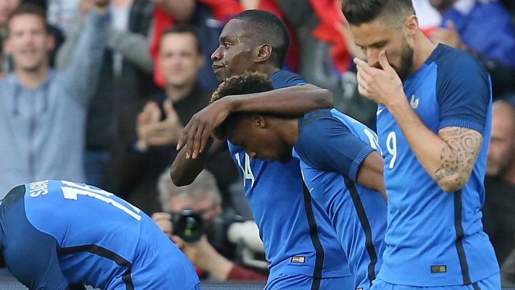 EM-Gastgeber Frankreich besiegte Kamerun mit 3:2