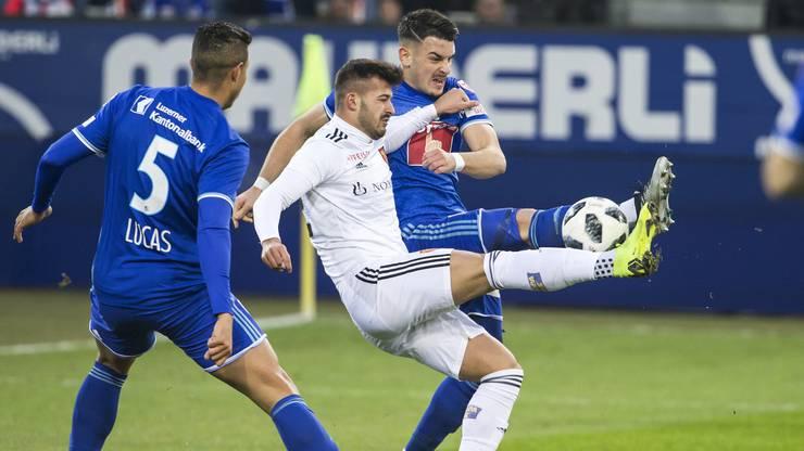 Der FC Luzern verpasste es vor einer Woche, sich durch einen Sieg gegen Basels B-Elf abzusetzen.