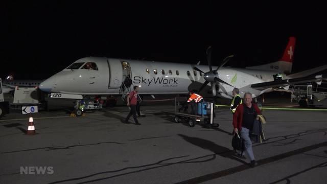 Adria Airways wird für Skywork einspringen