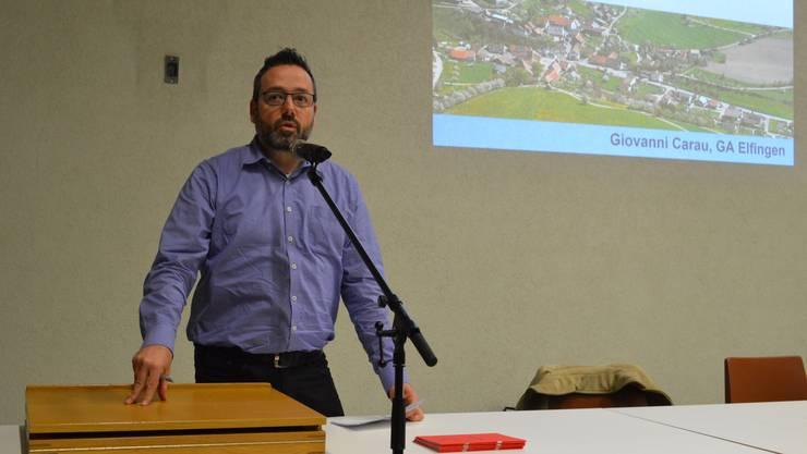 Giovanni Carau tritt auf Ende Jahr als Gemeindeammann zurück.