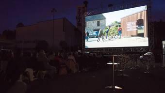 Am Donnerstagabend genossen die Besucher die französische Komödie «La Famille Bélier» in Rudolfstetten. KOB