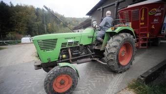 Der Bauer überrollte mit Traktor seinen Sohn (Symbolbild).