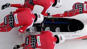 Rang 6 für Schweiz 1 mit Pilot Gregor Baumann