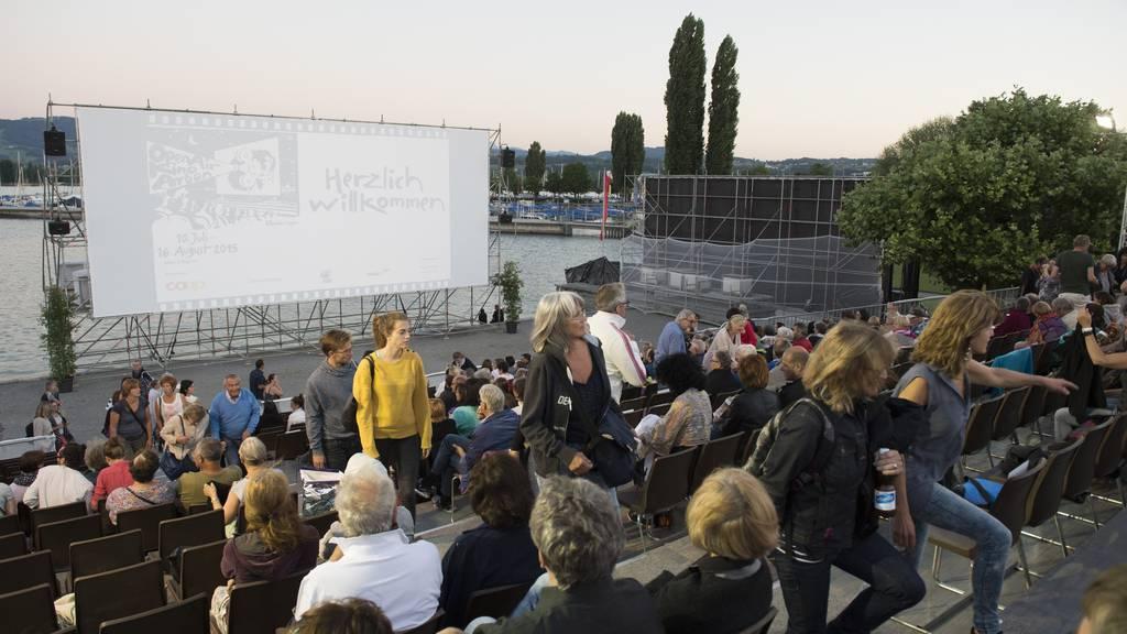 Das Openair-Kino in Arbon - eines von vielen.