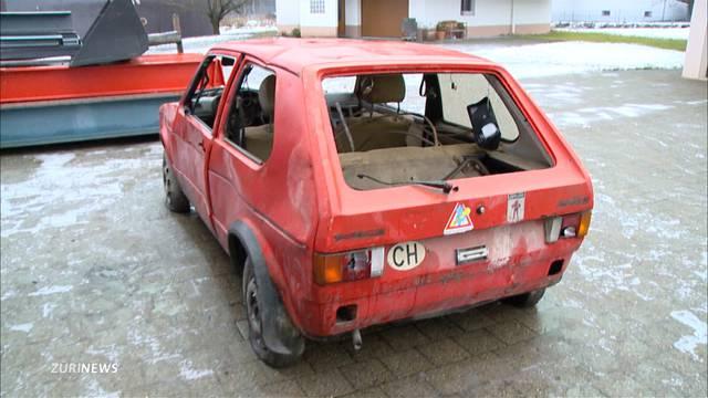 Fund: 40-jähriger VW Golf in stillgelegtem Tunnel