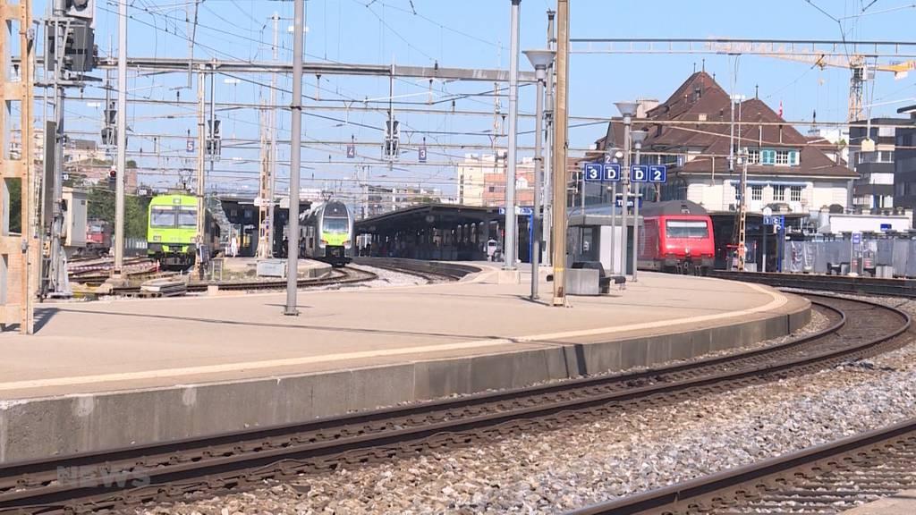 Toter bei Bahngleis in Thun gefunden