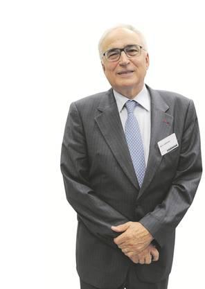 Im Bild: Willi Liebherr, Verwaltungsratspräsident der Liebherr International.