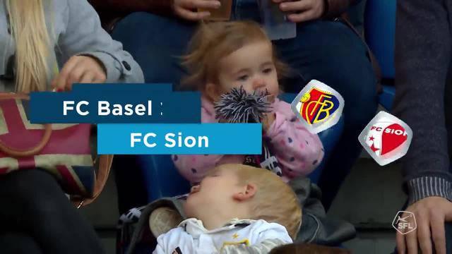 FC Basel - Sion Rückrunde 2019