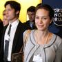 Angelina Jolie mit Brad Pitt 2006 in Davos: Kurz vor der Finanzkrise wurde das WEF auch zum Promi- und Party-Anlass.