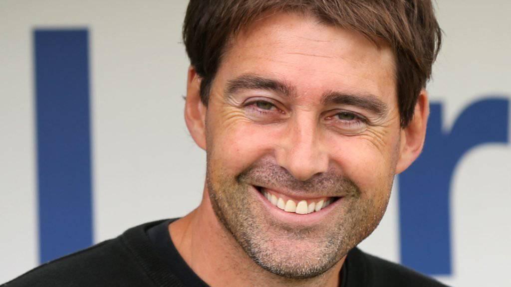 René Weiler durfte sich nach dem ersten Ligaspiel als Trainer des RSC Anderlecht über drei Punkte freuen