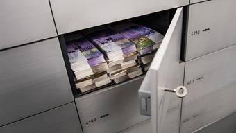 130 Prozent hat das Durchschnittsvermögen einer erwachsenen Person in der Schweiz seit 2000 zugelegt: auf 537 600 Dollar. Damit belegt die Schweiz den ersten Platz in der Weltrangliste, wie der jüngste «Global Wealth Report» der Grossbank Credit Suisse zeigt. (Themenbild)