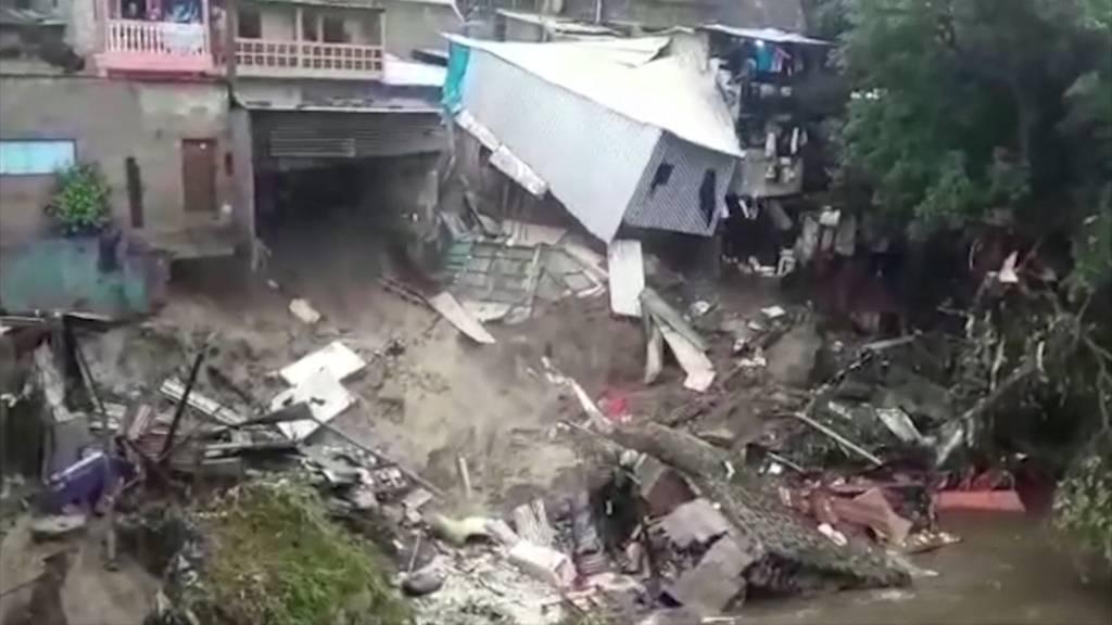 Mindestens 15 Tote bei Tropensturm in El Salvador